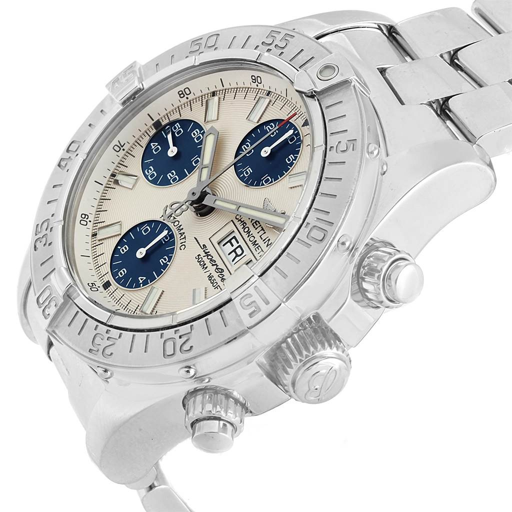 17312 Breitling Aeromarine Superocean Chronograph Mens Watch A13340 SwissWatchExpo