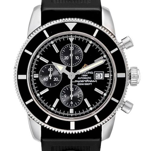 Photo of Breitling SuperOcean Heritage Chrono 46 Black Dial Mens Watch A13320