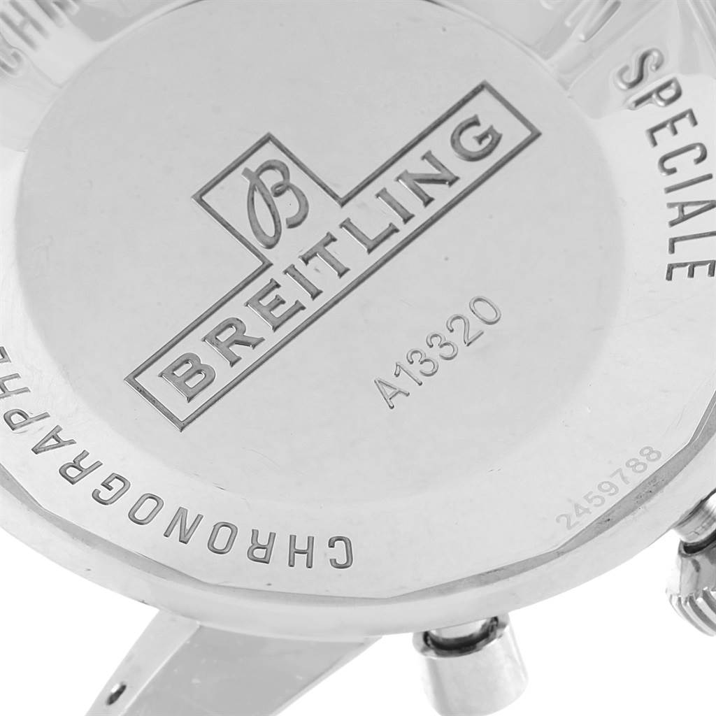Breitling SuperOcean Heritage Chrono 46 Rubber Strap Mens Watch A13320 SwissWatchExpo