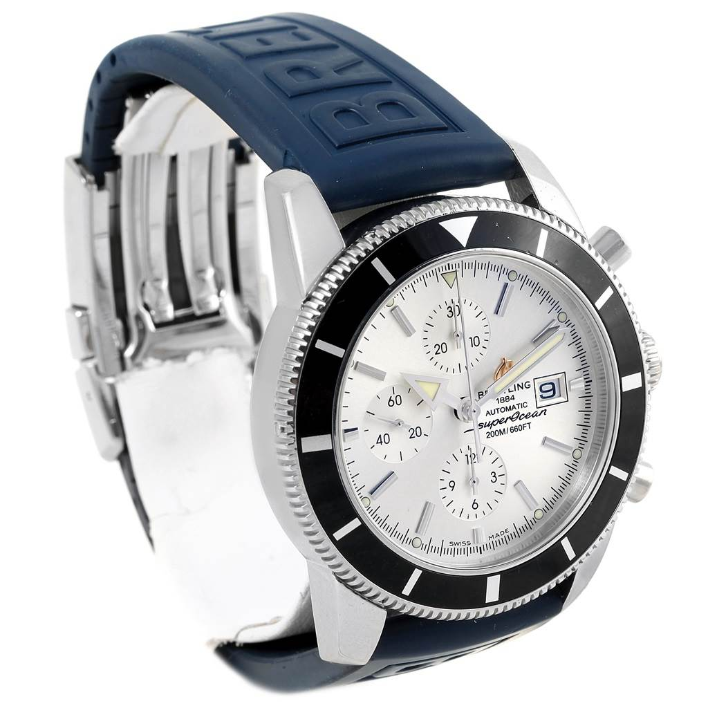 17350 Breitling SuperOcean Heritage Chrono 46 Rubber Strap Watch A13320 SwissWatchExpo