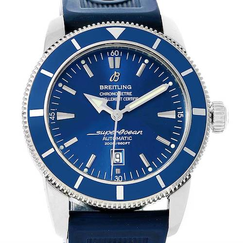 Photo of Breitling Superocean Heritage 46 Blue Dial Mens Watch A17320