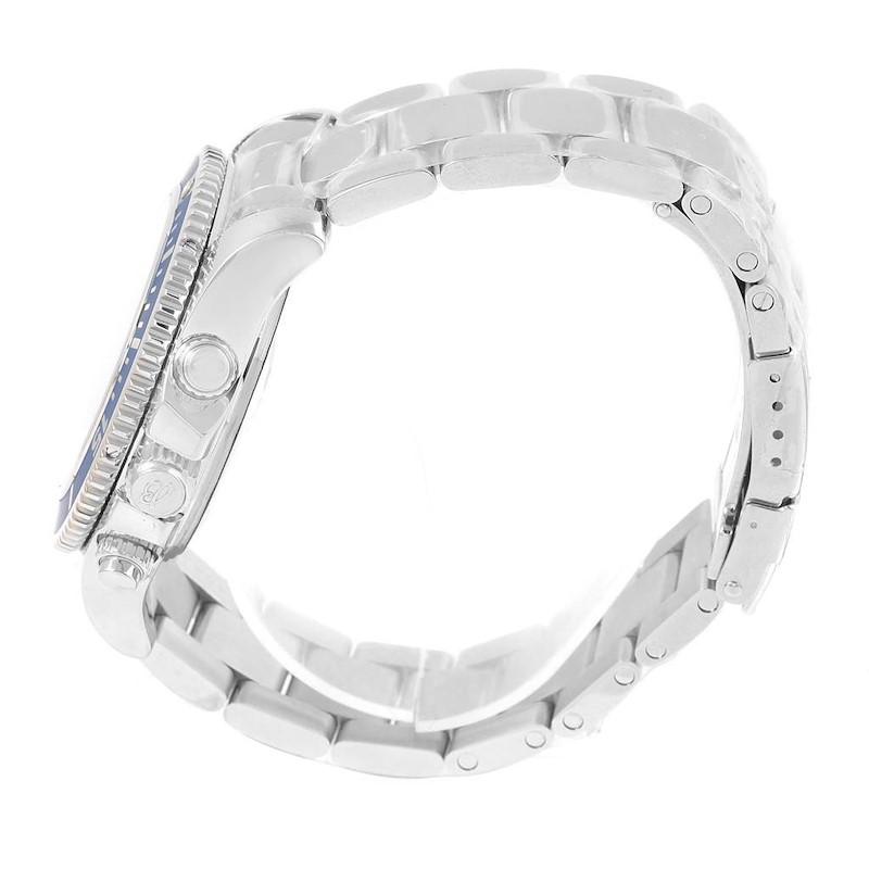 Breitling Superocean Chronograph 42 Blue Dial Mens Watch A13311 Unworn SwissWatchExpo
