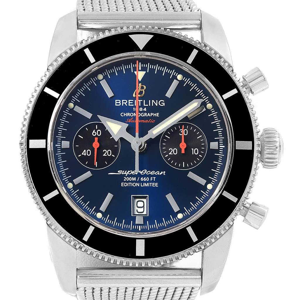 17712 Breitling SuperOcean Heritage 125 Anniversary LE Watch A23320 Box Papers SwissWatchExpo