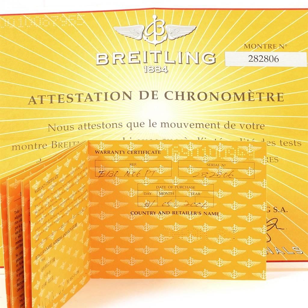 Breitling Aeromarine Avenger Chronograph Titanium Watch E13360 Box Papers SwissWatchExpo