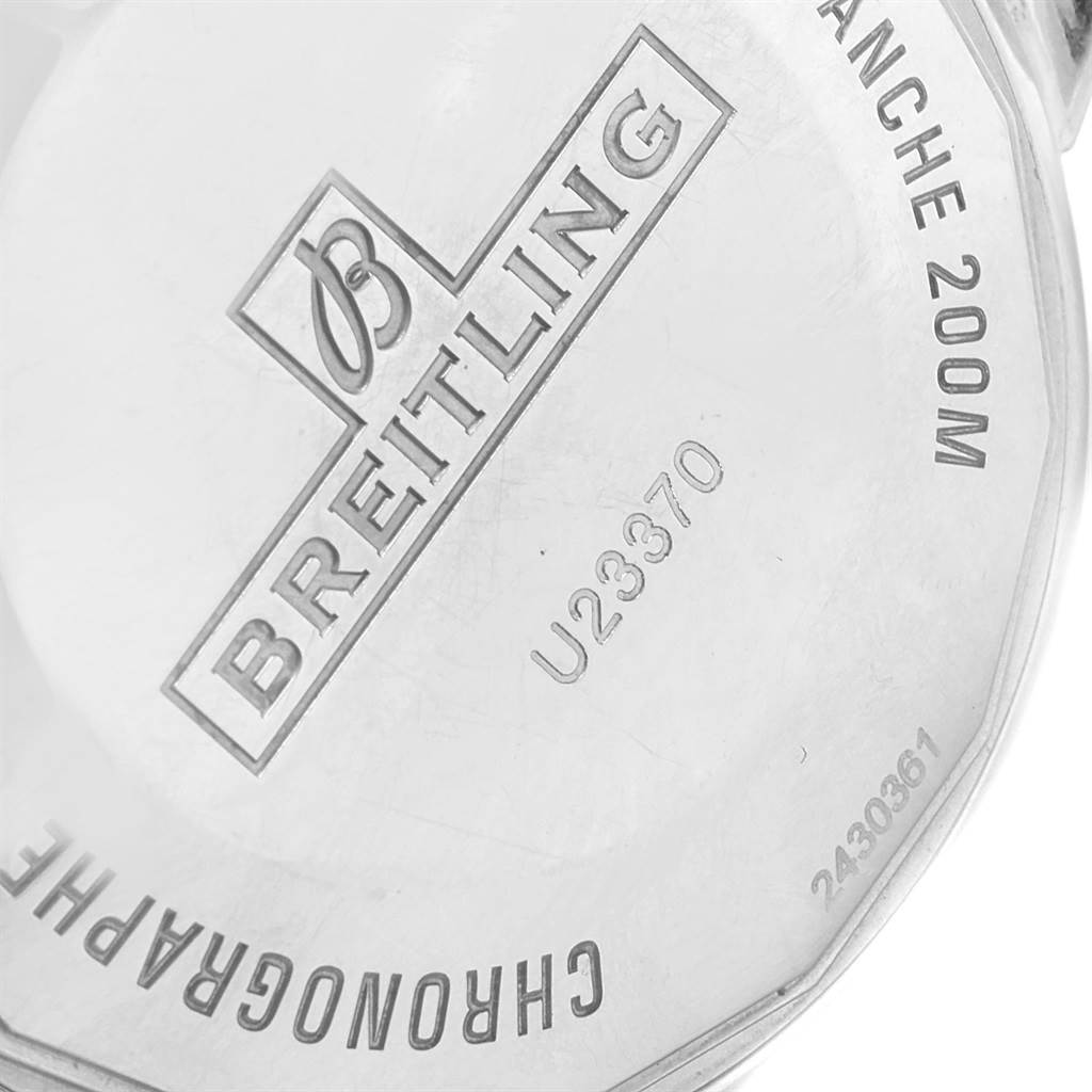 Breitling SuperOcean Heritage 44 Steel Rose Gold Watch U23370 Box Papers SwissWatchExpo