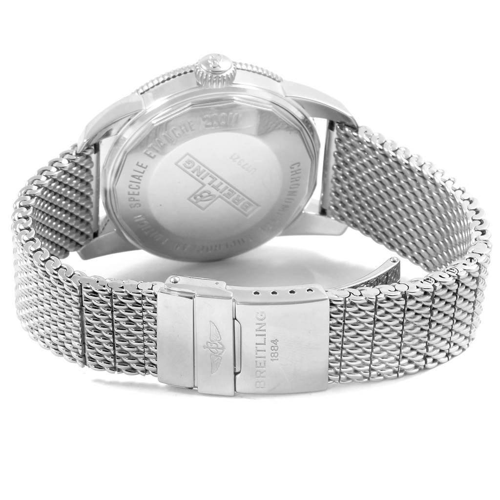 Breitling Superocean Heritage Steel Rose Gold Watch U17321 Box Papers SwissWatchExpo