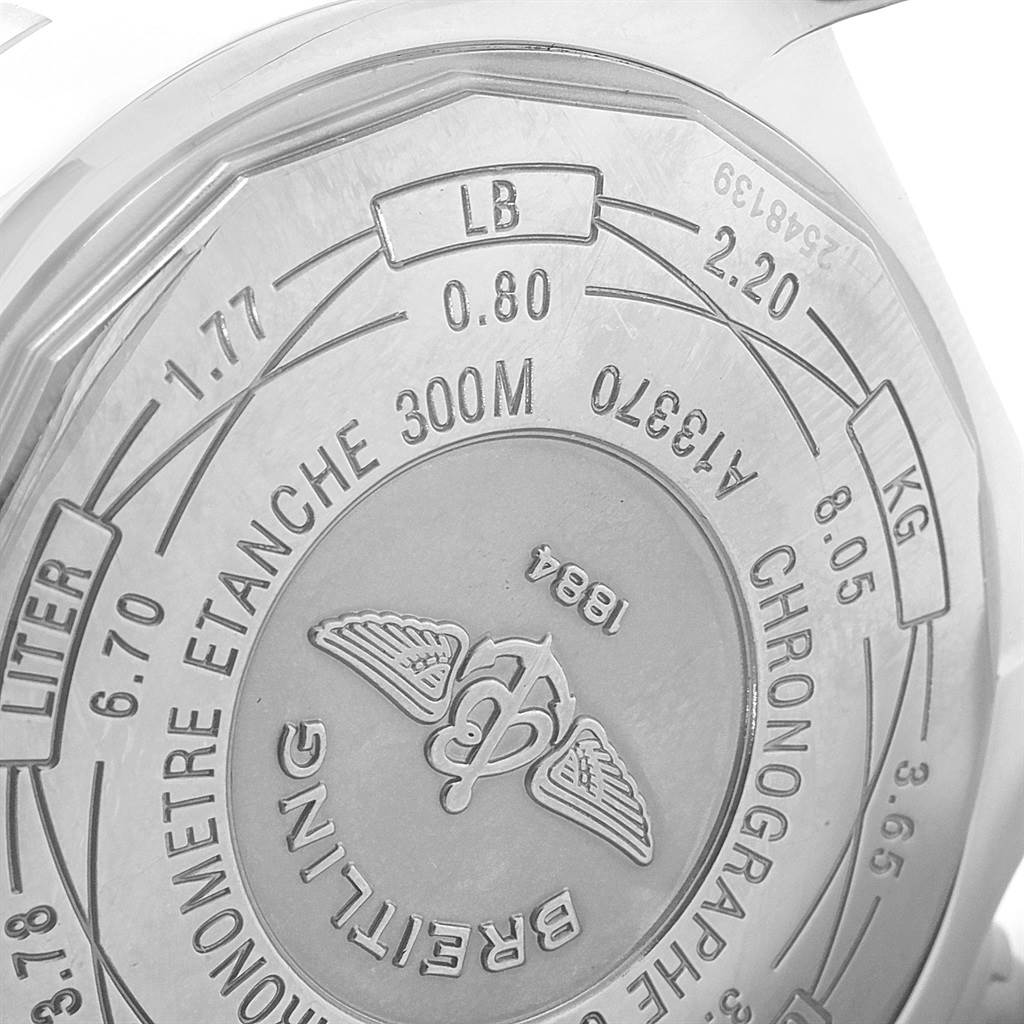 19475 Breitling Aeromarine Super Avenger Mens Watch A13370 Box Papers SwissWatchExpo