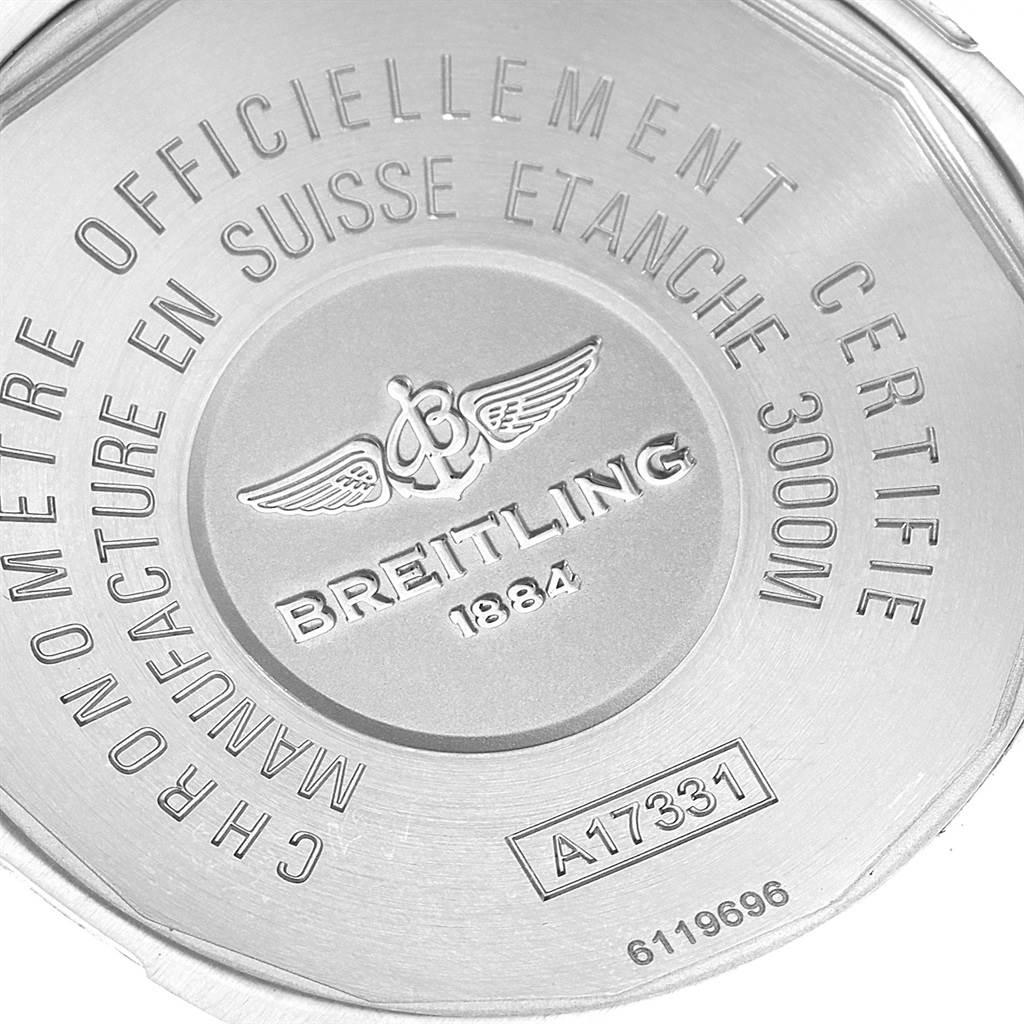 19545 Breitling Aeromarine Avenger II Seawolf Mens Watch A17331 Box Papers SwissWatchExpo