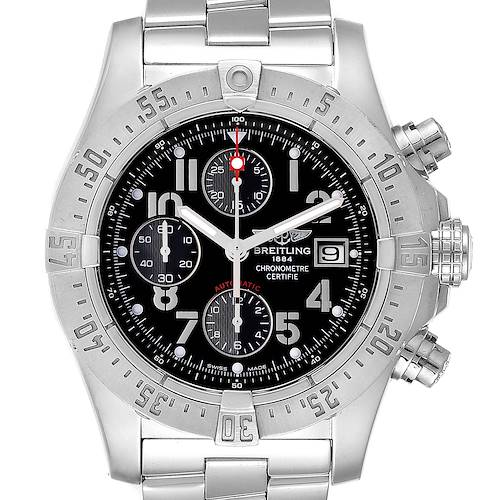 Photo of Breitling Aeromarine Avenger Skyland Black Dial Mens Watch A13380