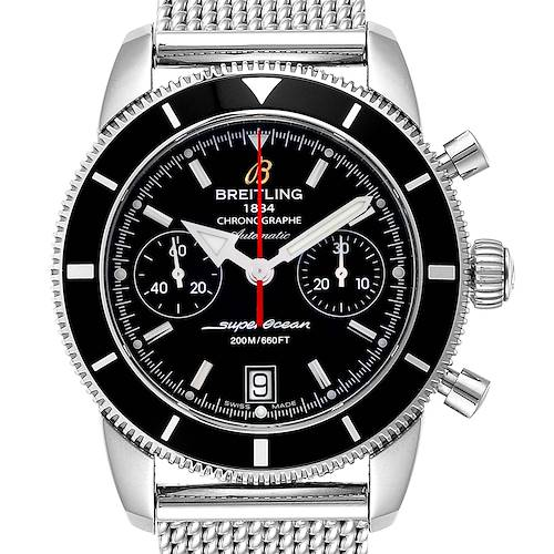 Breitling SuperOcean Heritage 44 Chrono Black Dial Watch A23370