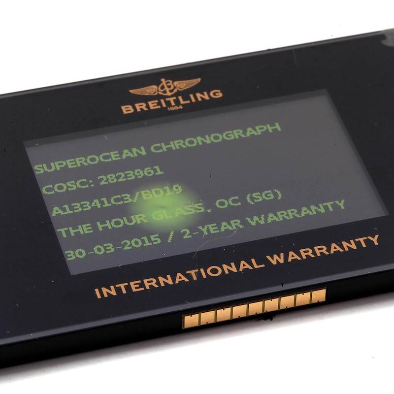 Breitling Aeromarine SuperOcean Chronograph II Watch A13341 Box Papers SwissWatchExpo