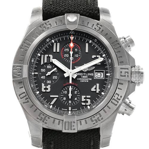 Photo of Breitling Avenger Bandit Grey Dial Chronograph Titanium Watch E13383
