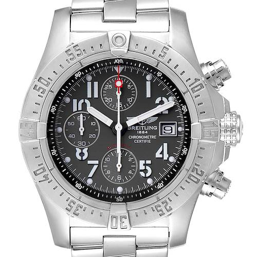Photo of Breitling Aeromarine Avenger Skyland Grey Dial Mens Watch A13380