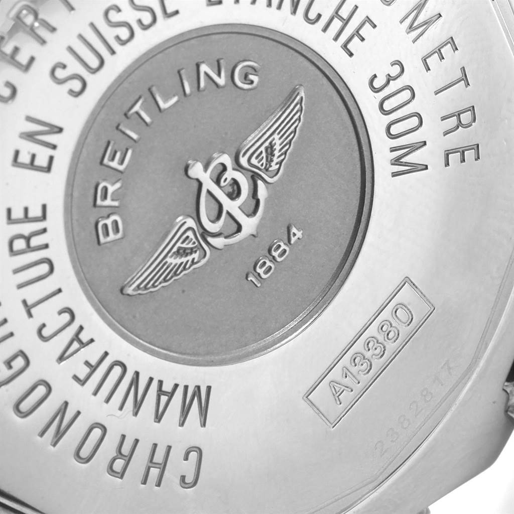 20293 Breitling Aeromarine Avenger Skyland Grey Dial Mens Watch A13380 SwissWatchExpo