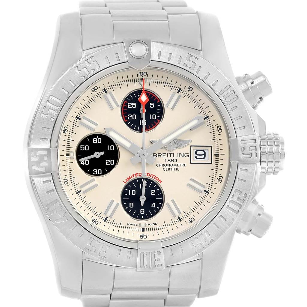 20292 Breitling Aeromarine Super Avenger Mens Watch A13381 SwissWatchExpo