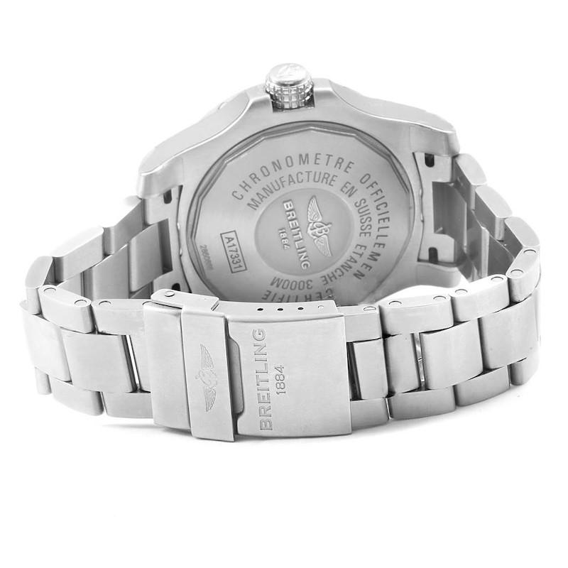 Breitling Aeromarine Avenger II Seawolf Watch A17331 Mens Unworn SwissWatchExpo