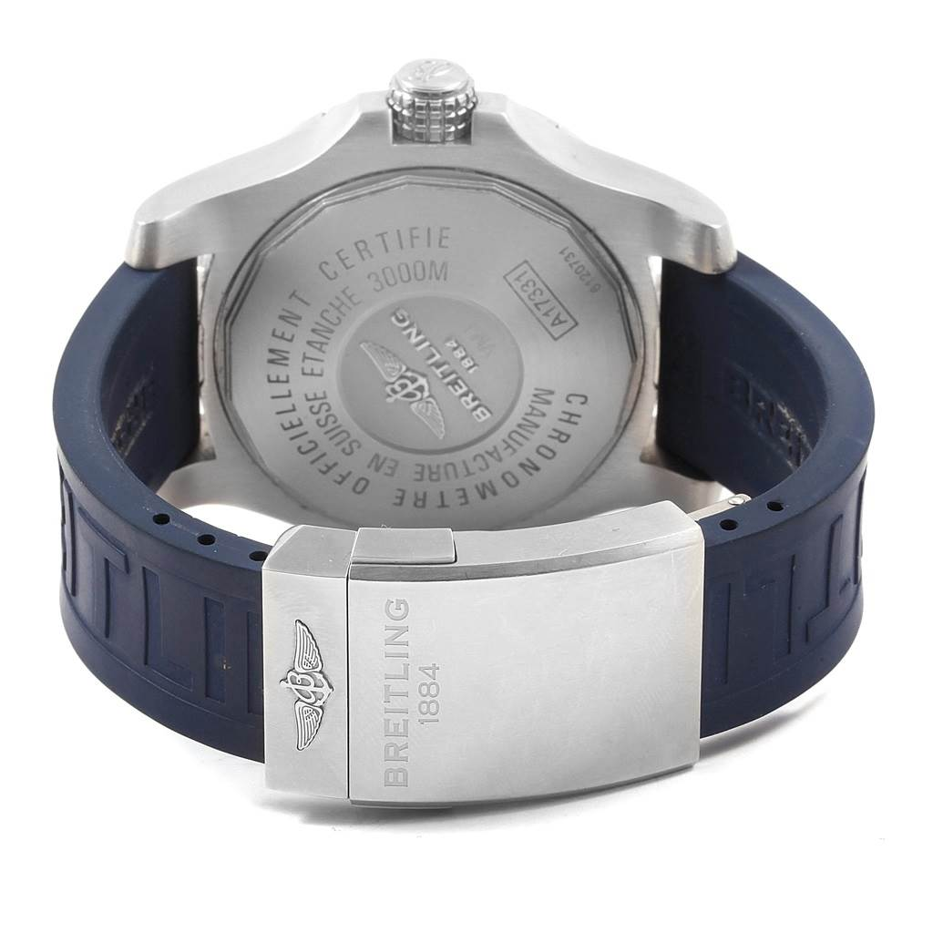 20629 Breitling Aeromarine Avenger II Seawolf Watch A17331 Mens Box Papers SwissWatchExpo