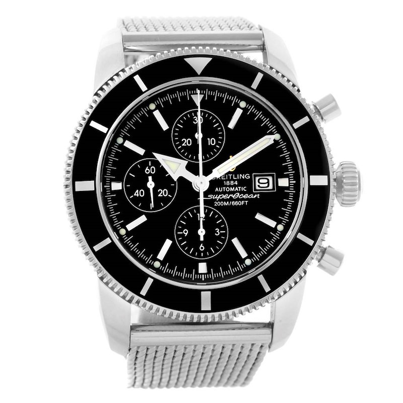 Breitling SuperOcean Heritage Chrono 46 Mens Watch A13320 Box Papers SwissWatchExpo