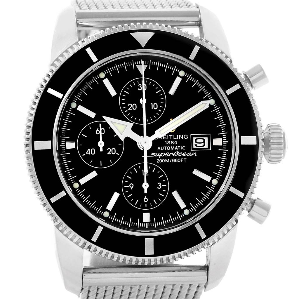 20642 Breitling SuperOcean Heritage Chrono 46 Mens Watch A13320 Box Papers SwissWatchExpo