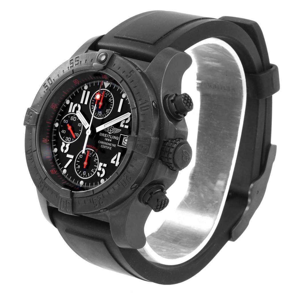 20956 Breitling Aeromarine Avenger Skyland Blacksteel Limited Watch M13380 SwissWatchExpo