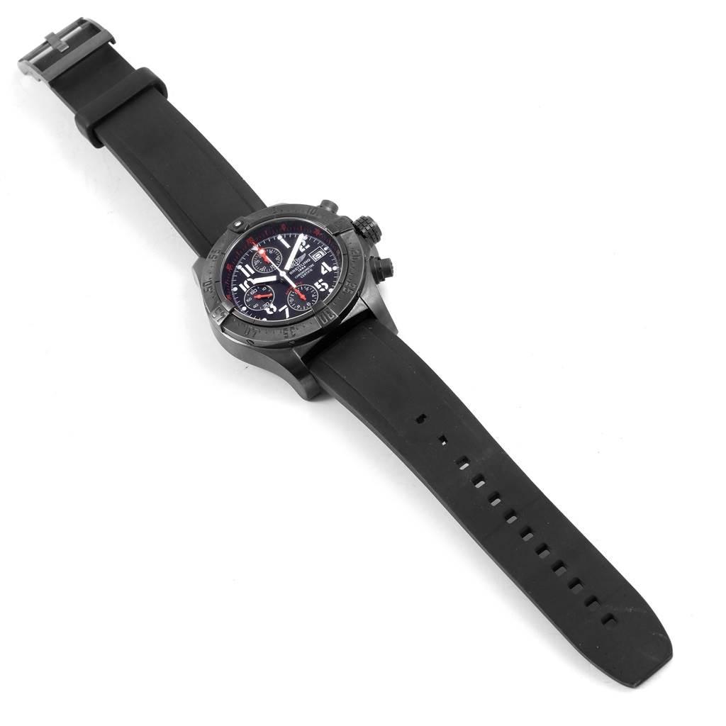 Breitling Aeromarine Avenger Skyland Blacksteel Limited Watch M13380 SwissWatchExpo