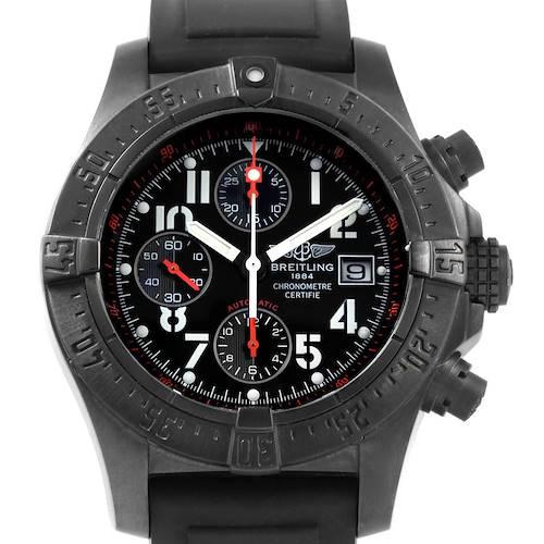 Photo of Breitling Aeromarine Avenger Skyland Blacksteel Limited Watch M13380