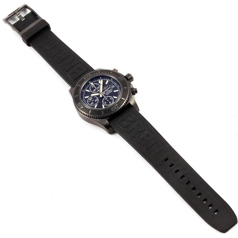 Breitling Superocean Blacksteel Limited Edition Mens Watch M18341 SwissWatchExpo