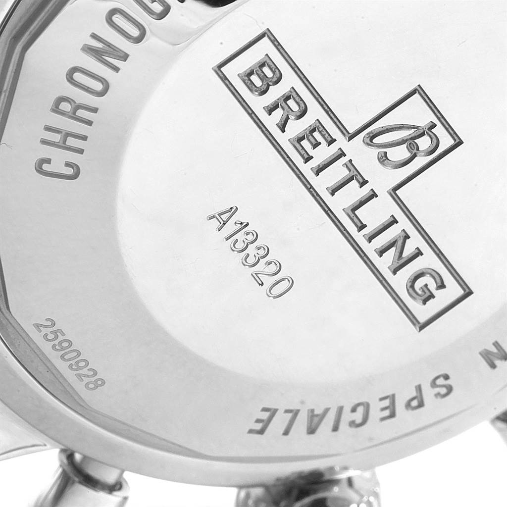 Breitling SuperOcean Heritage Chronograph 46 Blue Dial Watch A13320 SwissWatchExpo