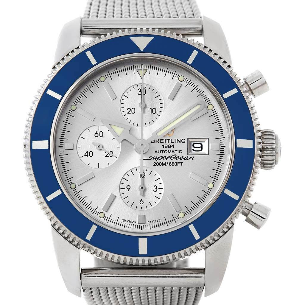 21330 Breitling SuperOcean Heritage Chrono 46 Watch A13320 Box Papers SwissWatchExpo