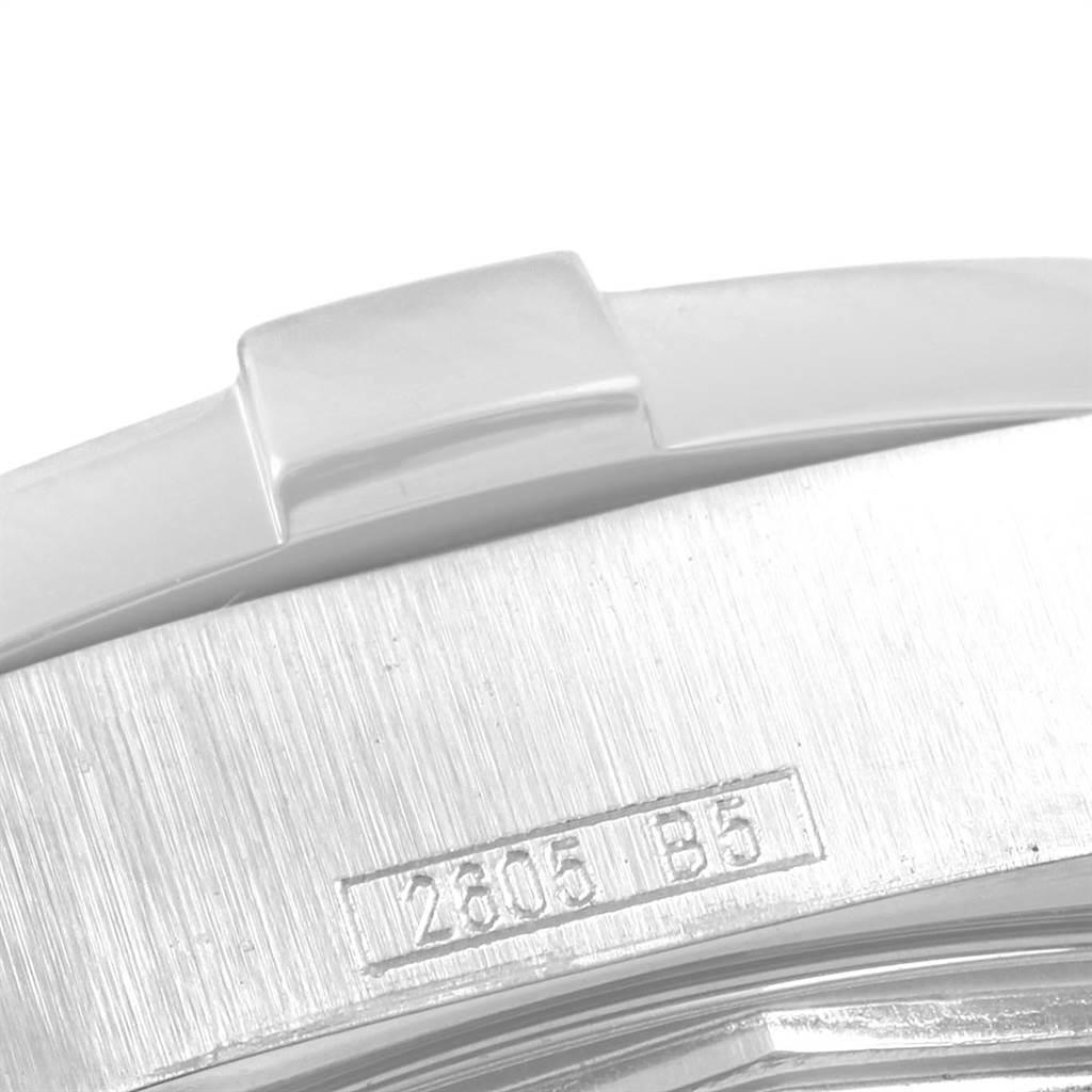 21400 Breitling Colt Quartz Blue Dial Stainless Steel Mens Watch A74380 SwissWatchExpo