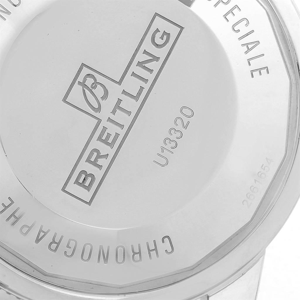 Breitling SuperOcean Heritage Chrono 46 Steel Rose Gold Watch U13320 SwissWatchExpo