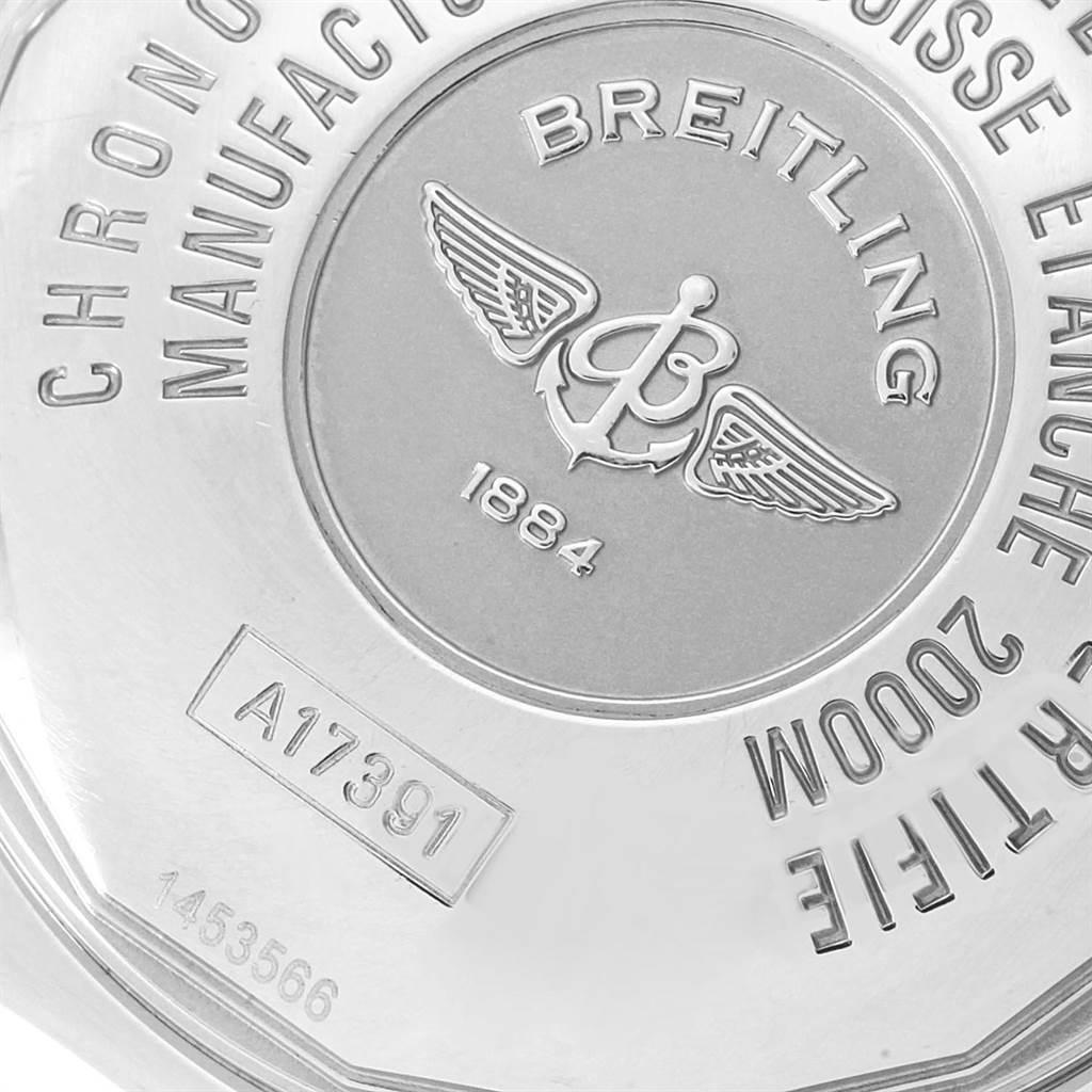 21743 Breitling Aeromarine Superocean 44 Steel Mens Watch A17391 Papers SwissWatchExpo
