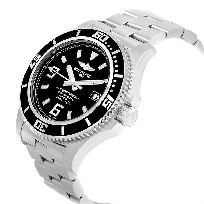 Breitling Aeromarine Superocean 44 Steel Mens Watch A17391 Papers SwissWatchExpo