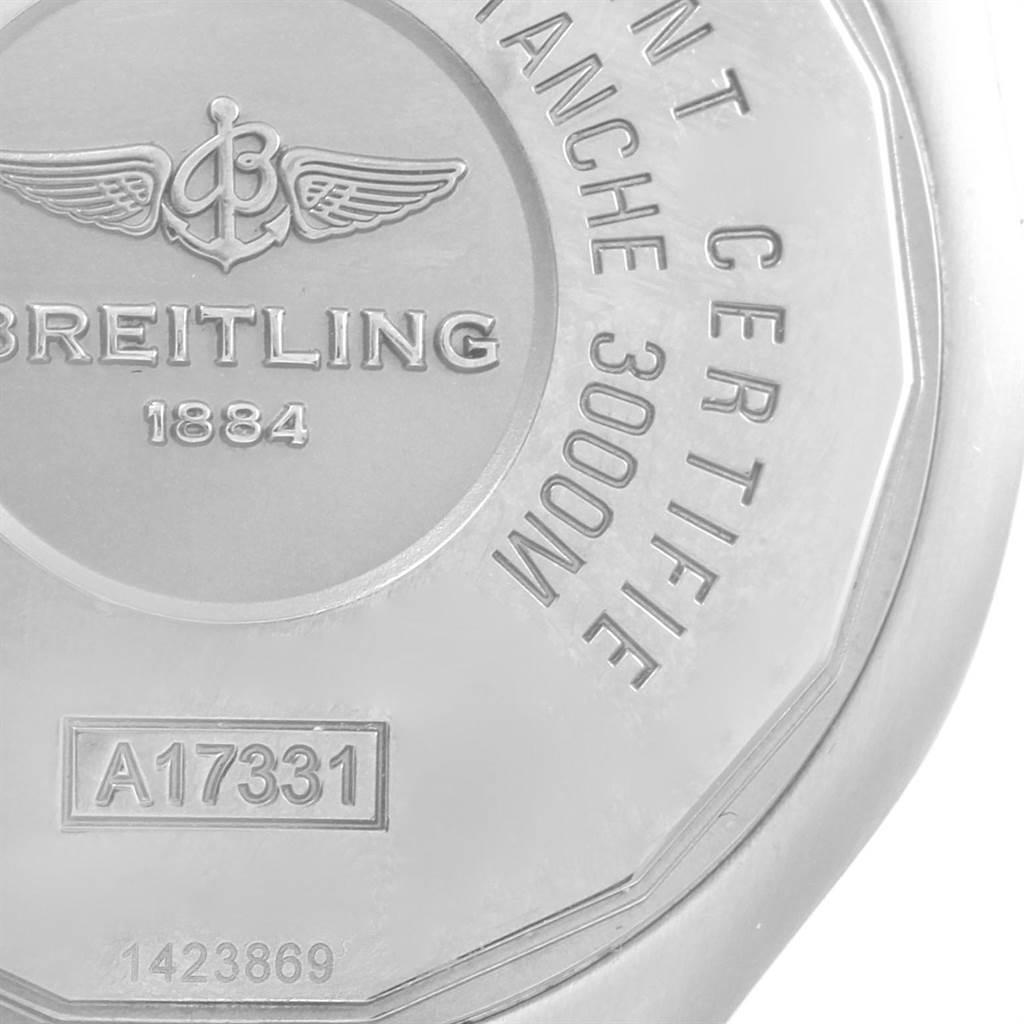 Breitling Aeromarine Avenger II 45mm Seawolf Mens Watch A17331 SwissWatchExpo