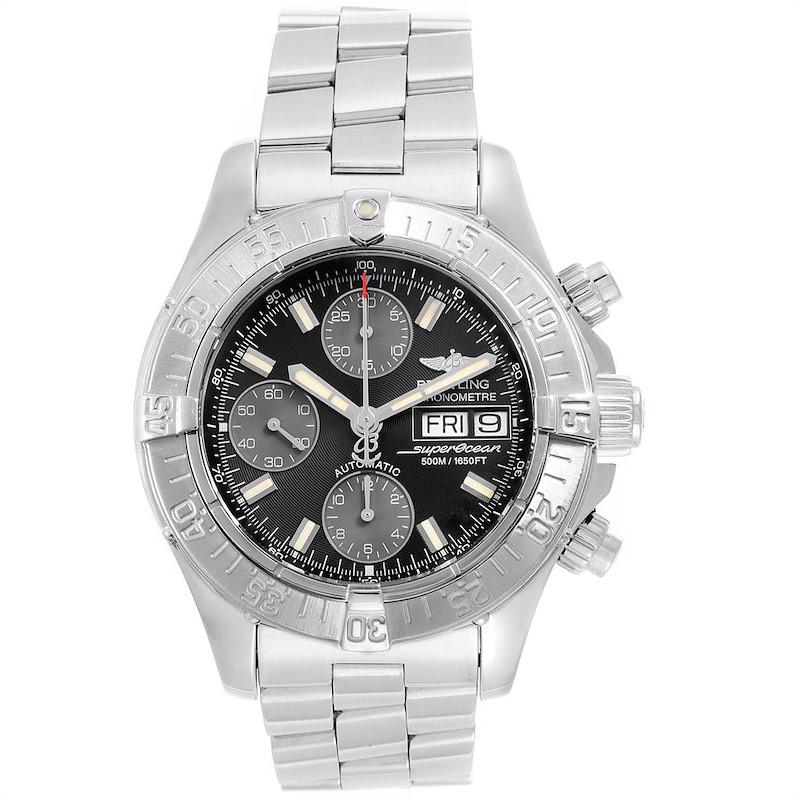 Breitling Aeromarine Superocean 42 Automatic Steel Mens Watch A13340 SwissWatchExpo