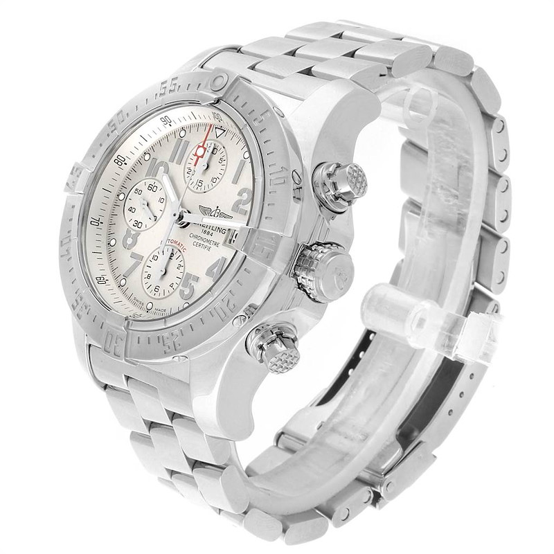 Breitling Aeromarine Avenger Skyland Mens Watch A13380 Box Papers SwissWatchExpo