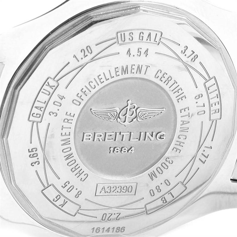 Breitling Aeromarine Avenger II GMT Steel Mens Watch A32390 Box Papers SwissWatchExpo