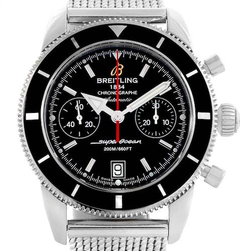 Photo of Breitling SuperOcean Heritage 44 Chrono Black Dial Watch A23370