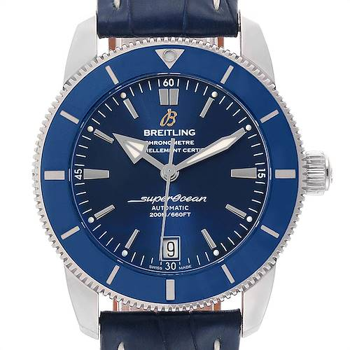 Photo of Breitling Superocean Heritage II 42 Steel Mens Watch AB2010 Box Papers