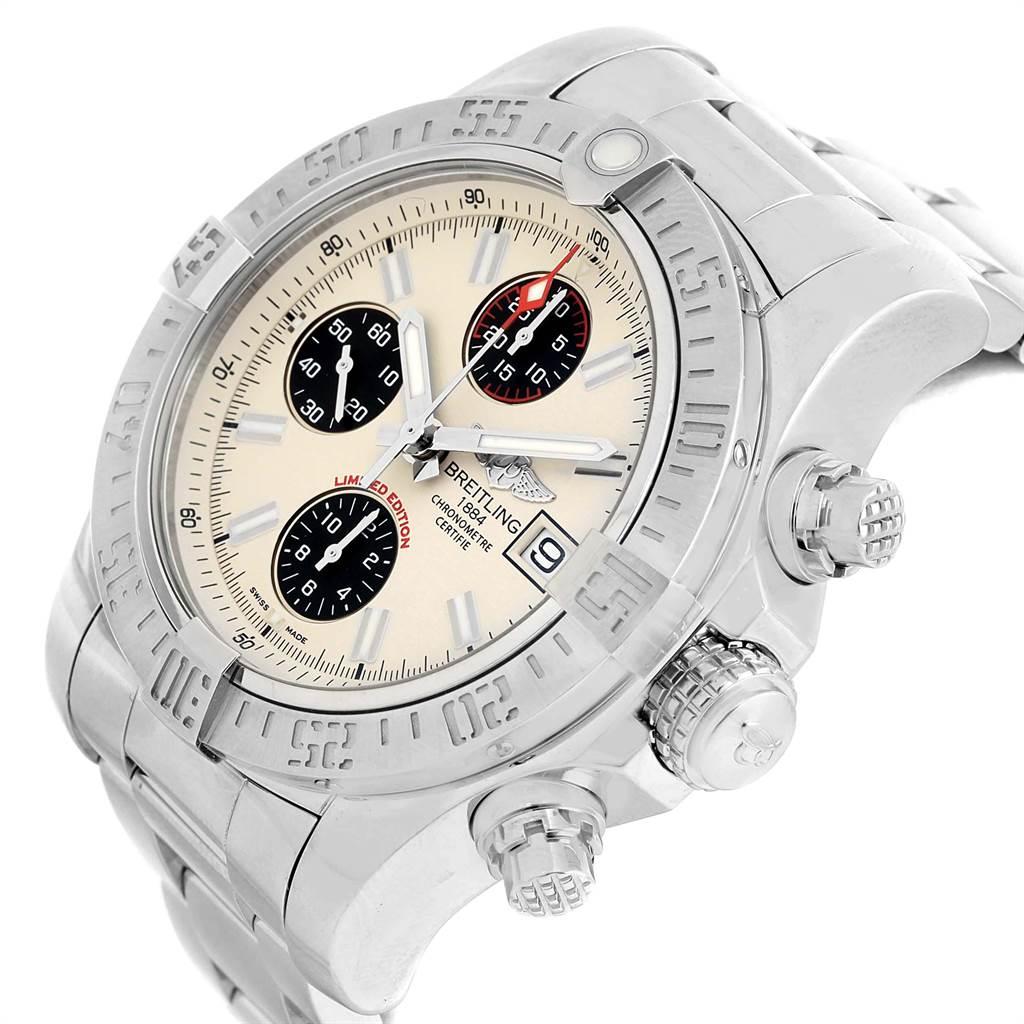 22506 Breitling Aeromarine Super Avenger Mens Watch A13381 Box Papers SwissWatchExpo