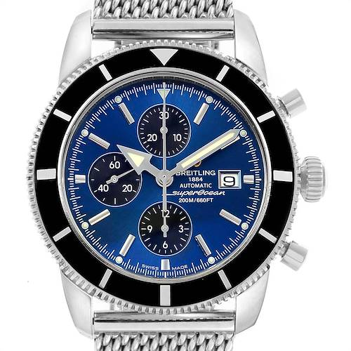Photo of Breitling SuperOcean Heritage Chronograph 46 Blue Dial Watch A13320