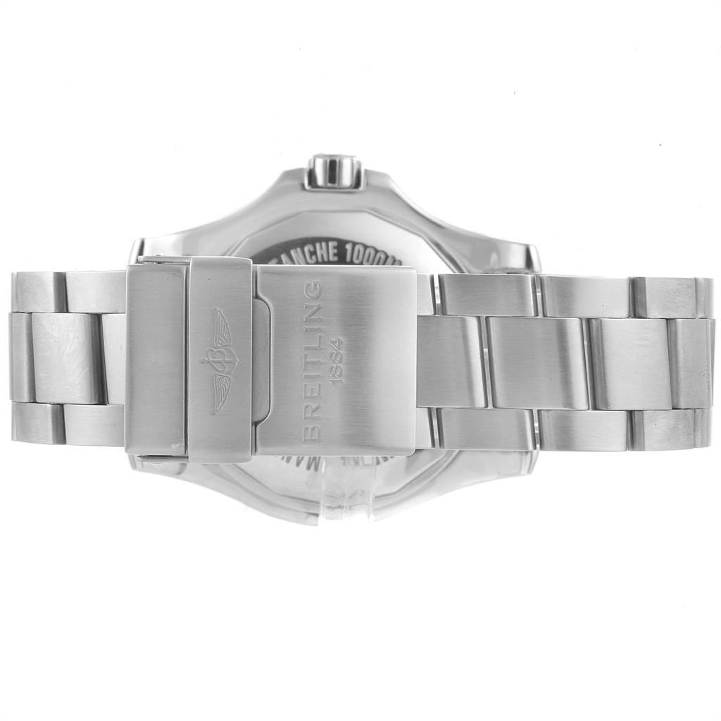 22695 Breitling Superocean II 44 Black Dial Mens Watch A17392 Box SwissWatchExpo