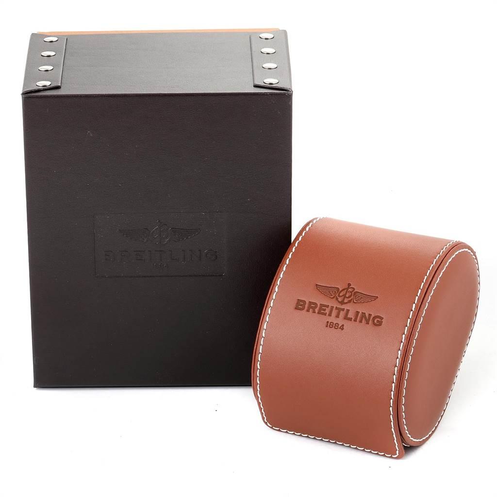 Breitling Aeromarine SuperOcean II Red Bezel Limited Edition Watch A13341 SwissWatchExpo