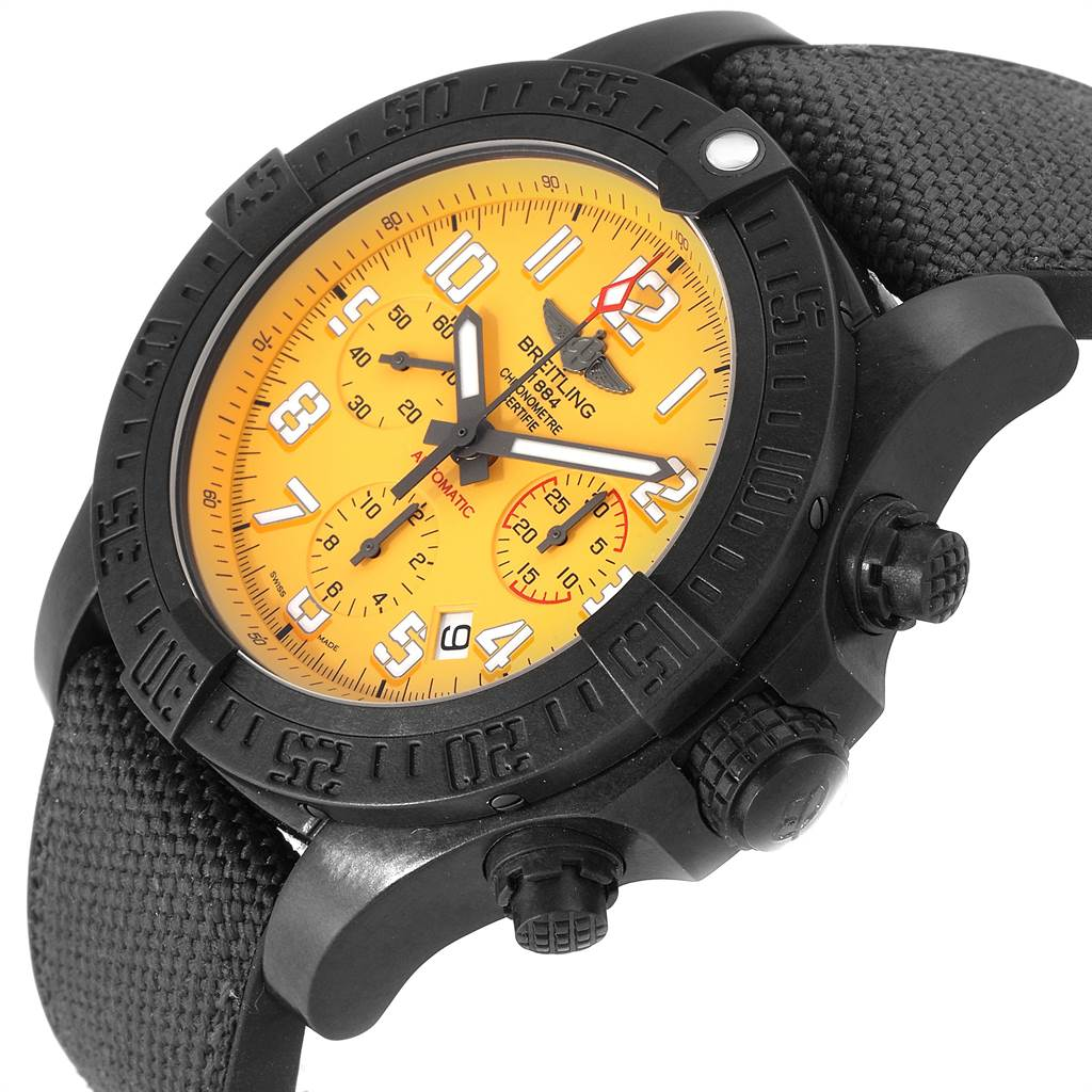 Breitling Avenger Hurricane 45 Breitlight Mens Watch XB1210 Box Card SwissWatchExpo