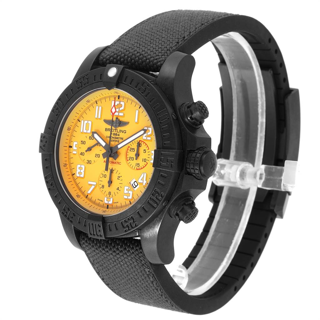 23594 Breitling Avenger Hurricane 45 Breitlight Mens Watch XB1210 Box Card SwissWatchExpo