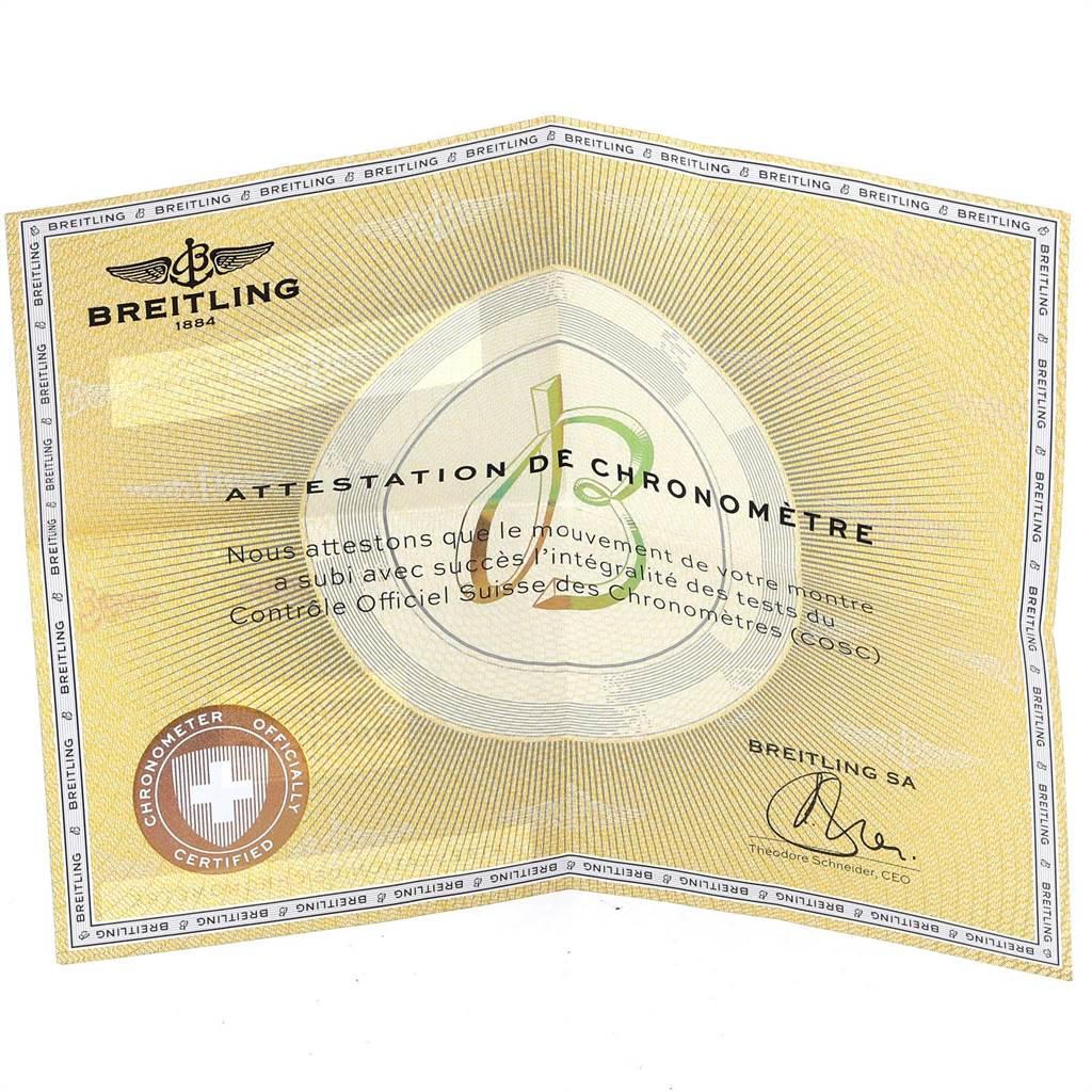 21714 Breitling Superocean 44 Steel Rose Gold Mens Watch C17391 Box Papers SwissWatchExpo