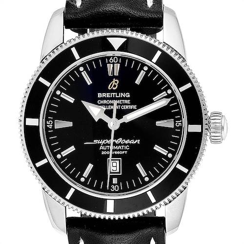Photo of Breitling Superocean Heritage 46 Black Dial Steel Watch A17320