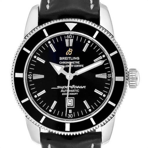 Photo of Breitling Superocean Heritage 46 Black Dial Steel Mens Watch A17320