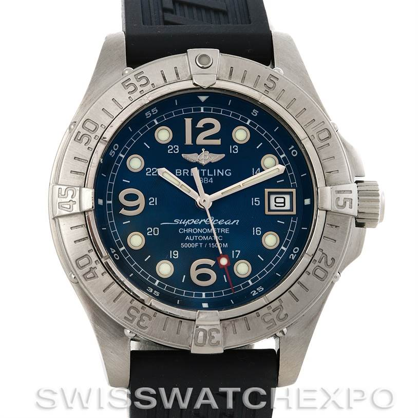 2981 Breitling Superocean Steelfish Watch A1736010/C644 SwissWatchExpo