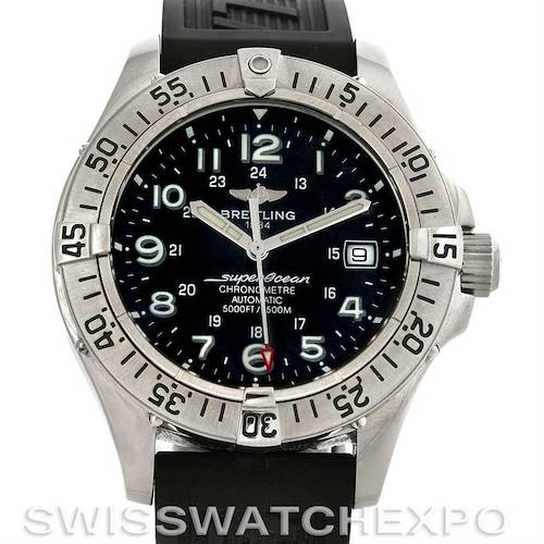 Photo of Breitling Superocean Authomatic Watch A17360 Unworn